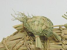 繁盛祈願米俵の亀